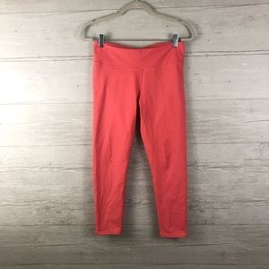 Fabletics Coral Cropped Athletic Leggings Size M